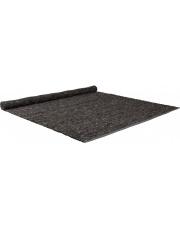 Dywan PURE 160x230 DARK GREY 6000043 Zuiver tkany ręcznie dywan w ciemnoszarym klorze wykonany z filcowanej wełny i sizalu