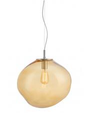 Lampa wisząca Avia L 10418115 oprawa wisząca nowoczesna bursztynowa Kaspa