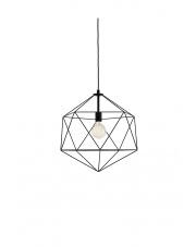 Lampa wisząca Wire L 10533102 oprawa wisząca nowoczesna czarna Kaspa