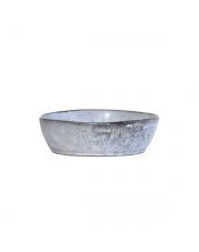 Miska ceramiczna w stylu rustykalnym ACE6068 HK Living misa o matowym szarym wykończeniu