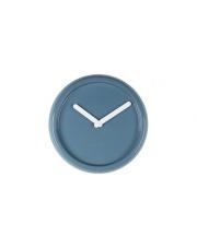 Zegar CERAMIC TIME BLUE 8500023 Zuiver ceramiczny porcelanowy zegar ścienny w kolorze niebieskim