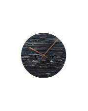 Zegar MARBLE TIME GREY 8500035 Zuiver marmurowy zegar ścienny w kolorze szarym