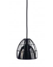 Lampa wisząca Frame M 10338102 oprawa wisząca nowoczesna czarny połysk / przewód czarny  Kaspa