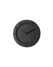 Zegar PULP TIME ROUND BLACK 8500022 Zuiver okrągły, czarny zegar z pulpy papierowej