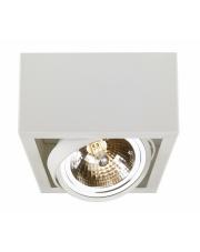 Plafon Cube 1 70351101 oprawa sufitowa biała Kaspa
