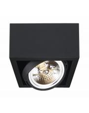 Plafon Cube 1 70357102 oprawa sufitowa czarna Kaspa
