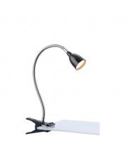 Lampa biurkowa Tulip LED 106092 oprawa z klipsem czarna Markslojd