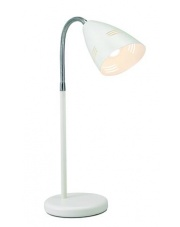 Lampa biurkowa Vejle 197812 oprawa stojąca biała Markslojd