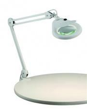 Lampa biurkowa Halltorp 100854 oprawa stojąca biała Markslojd
