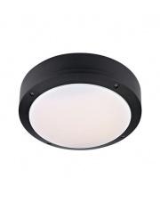 Plafon Luna LED 106535 oprawa sufitowa czarna/biała Markslojd