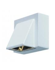 Zewnętrzny kinkiet Carina LED 104733 oprawa ścienna biała Markslojd