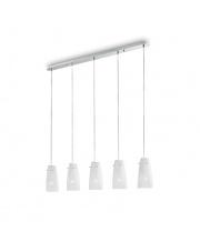 Lampa wisząca Sugar SP5 090764 oprawa wisząca biała Ideal Lux