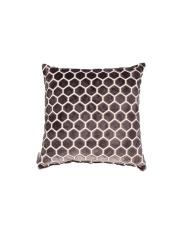Poduszka MONTY DARK GREY 8600023 Zuiver ciemnoszara poduszka ozdobna z wzorem w sześciokąty