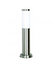 Lampa stojąca zewnętrzna Abrego IP44 003B-G05X1A-30 Dopo lampa zewnętrzna w kolorze stali