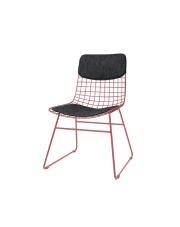 Zestaw COMFORTS KIT DINING CHAIR DARK GREY TAA1287 HK Living siedzisko i oparcie w kolorze ciemnoszarym do krzesła jadalnianego WIRE DINING CHAIR