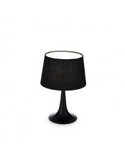 Lampa stołowa London Small Nero 110554 Ideal Lux czarna oprawa stołowa w stylu nowoczesnym
