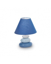 Lampa stołowa K2 Blu 035031 Ideal Lux ceramiczna nowoczesna oprawa stołowa