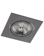 Oprawa sufitowa Alcazar 141.BB Lumifall kwadratowe czarne oczko sufitowe