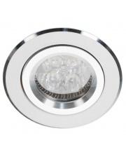 Oprawa sufitowa Alcoy 540.WC Lumifall okrągłe biało-chromowe oczko sufitowe