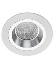 Oprawa sufitowa Bosque 540.WC Lumifall okrągłe biało-chromowe oczko sufitowe