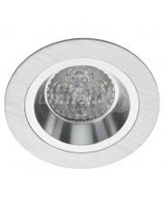 Oprawa sufitowa Bosque 540.SC Lumifall okrągłe srebrno-chromowe oczko sufitowe