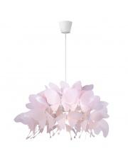 Lampa wisząca Farfalla LP-3439/1P pink Light Prestige oprawa wisząca do pokoju dziecięcego