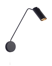 Kinkiet Futuro LP-17001/1WL BK Light Prestige oprawa ścienna w stylu nowoczesnym