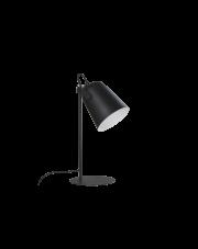 Lampa biurkowa Siri LP-4227/1T BLK Light Prestige minimalistyczna designerska oprawa biurkowa