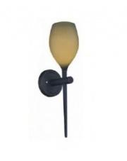 Kinkiet Izza Olive MB1288-1OL AZzardo designerska szklana oprawa ścienna