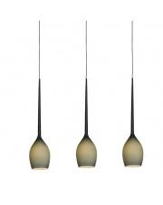 ŻARÓWKA LED GRATIS!!  Lampa wisząca Izza 3 MD1288B-3MG AZzardo designerska szklana oprawa wisząca