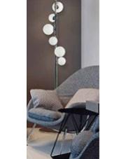 Lampa podłogowa Sybilla DEL-8389-6F AZzardo nowoczesna designerska oprawa stojąca