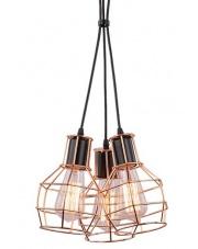 Lampa wisząca Carron MD50148-3 AZzardo oprawa wisząca w stylu industrialnym