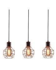 Lampa wisząca Carron MD50148-3L AZzardo oprawa wisząca w stylu industrialnym