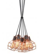 Lampa wisząca Carron MD50148-7 AZzardo oprawa wisząca w stylu industrialnym