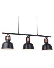 Lampa wisząca Darling MD50686-3A AZzardo oprawa wisząca w stylu industrialnym