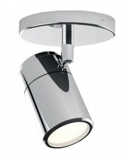Reflektor Noemie 1 LC4121 AZzardo chromowana oprawa łazienkowa w stylu nowoczesnym