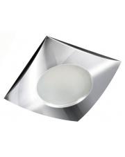 Oczko stropowe Ezio IP54 GM2105 CH AZzardo kwadratowa wpuszczana oprawa łazienkowa w stylu nowoczesnym