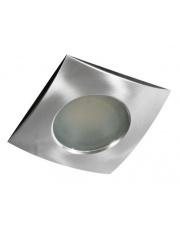 Oczko stropowe Ezio IP54 GM2105 AL AZzardo kwadratowa wpuszczana oprawa łazienkowa w stylu nowoczesnym