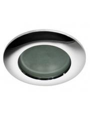 Oczko stropowe Emilio IP54 GM2104 CH AZzardo okrągła wpuszczana oprawa łazienkowa w stylu nowoczesnym