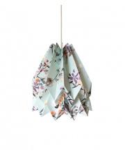 Lampa wisząca Wildflower Little Bird Orikomi papierowa oprawa wisząca z kwiatowym wzorem