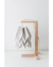 Lampa stołowa Plain Light Grey Orikomi papierowa oprawa stołowa w stylu design
