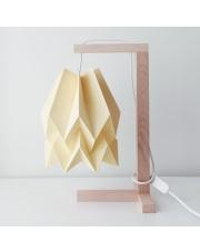 Lampa stołowa Plain Pale Yellow Orikomi papierowa oprawa stołowa w stylu design