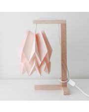 Lampa stołowa Plain Pastel Pink Orikomi papierowa oprawa stołowa w stylu design