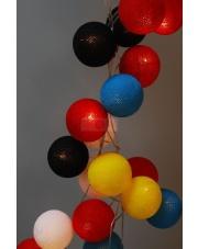 Kompozycja kolorowych kul LED Dala's Dream Cotton Ball Lights