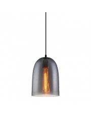 Lampa wisząca Tabby MDM3149/1 SG+DROP Italux lampa pojedyncza szara