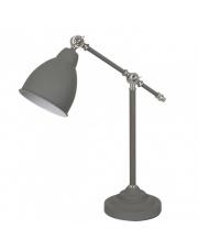 Lampa biurkowa Sonny MT-HN2054-1-GR Italux szara techniczna