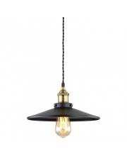 Lampa wisząca Verda MDM-3458/1M BK+GD czarna klasyczna Italux
