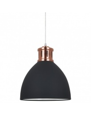 Lampa wisząca Lola MD-HN8100-B+RC Italux czarna loft