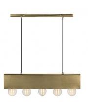 Lampa wisząca COUTURE 107038 Markslojd nowoczesna oprawa wisząca 5L antyczne złoto