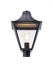 Zewnętrzna lampa DANDY 107120 Markslojd klosz czarny element konstrukcyjny lampy